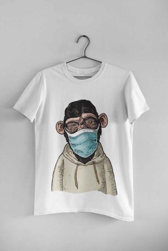 Tricou Quarantine Monkey