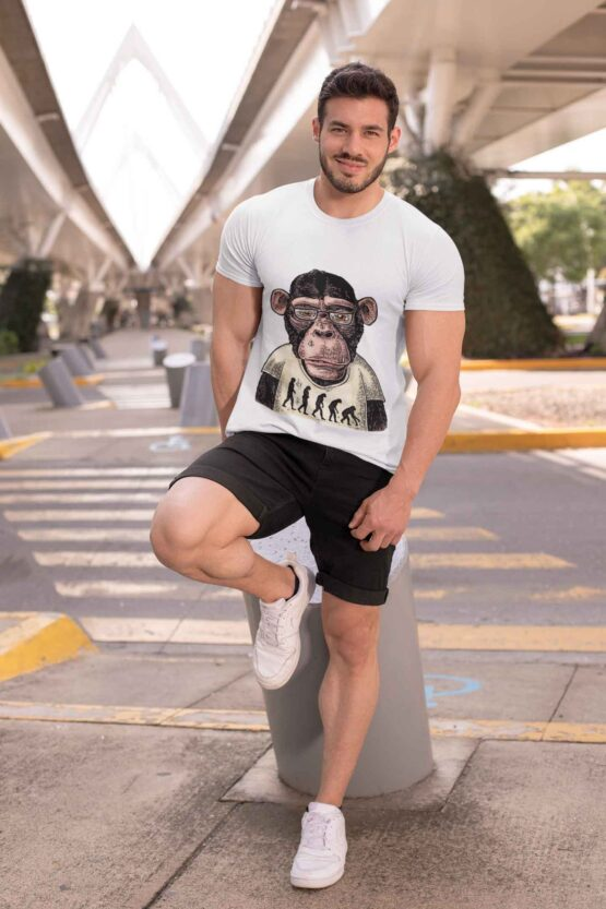Tricou Evolution Monkey